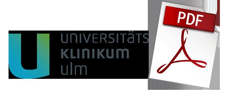 Uni Ulm Urkunde